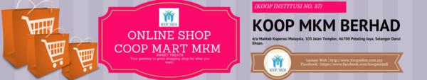 Online Shop COOP MART MKM
