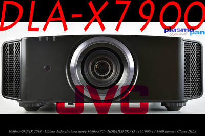 Videoproiettore JVC DLA-X7900 4K eShift HDR HLG SKY Q - DILA