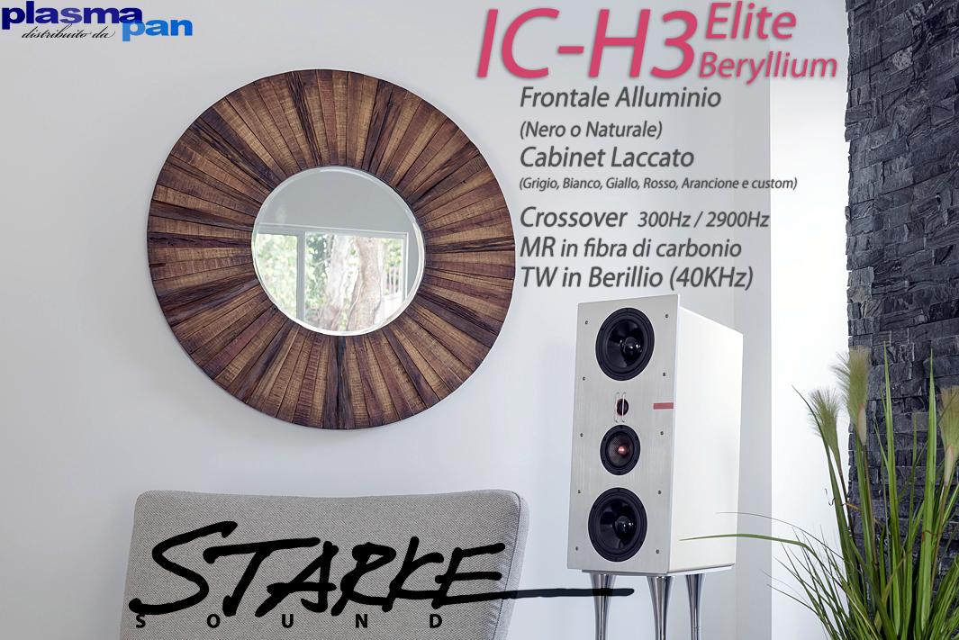 STARKE SOUND IC-H3 Elite BERYLLIUM Diffusori Acustici ( casse ) [coppia] HiFi Reference