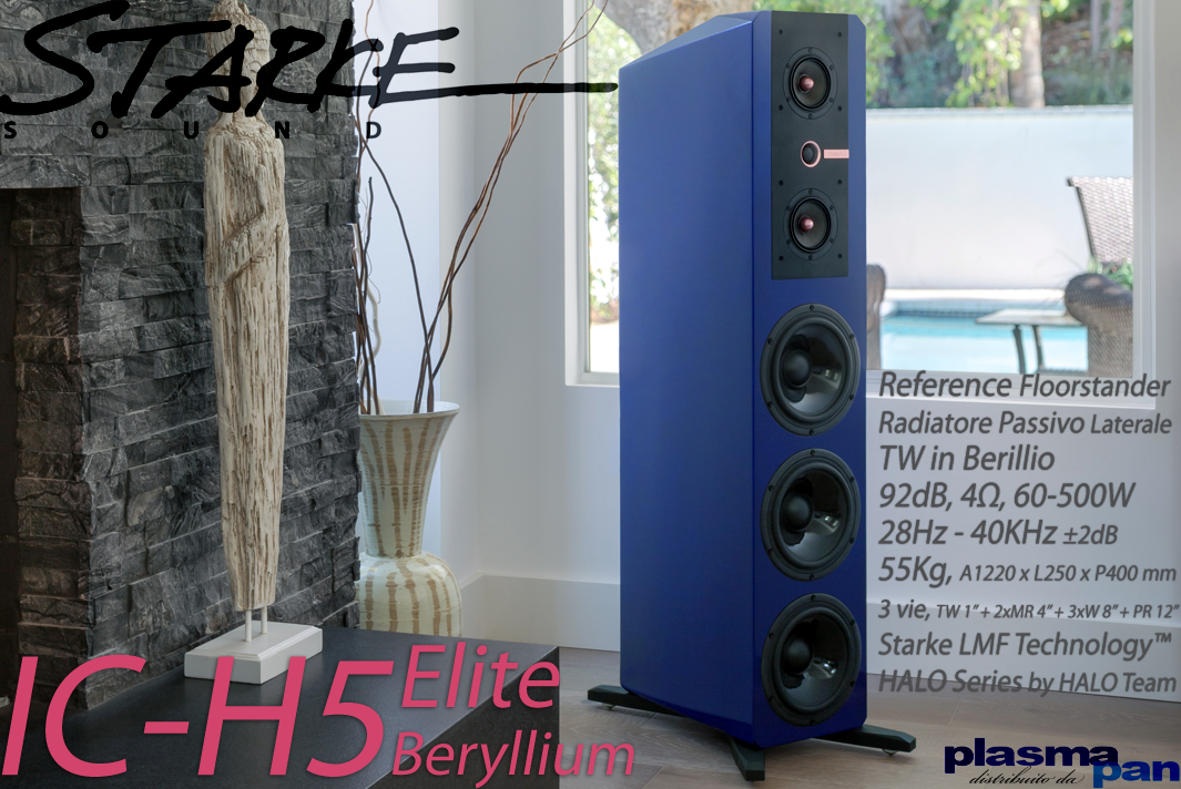 STARKE SOUND IC-H5 Elite BERYLLIUM Diffusori Acustici ( casse ) [coppia] HiFi Reference