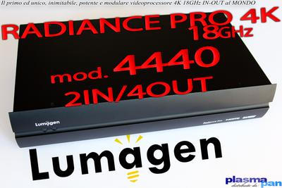 LUMAGEN RADIANCE PRO 4440 Processore Video 4K HiEnd