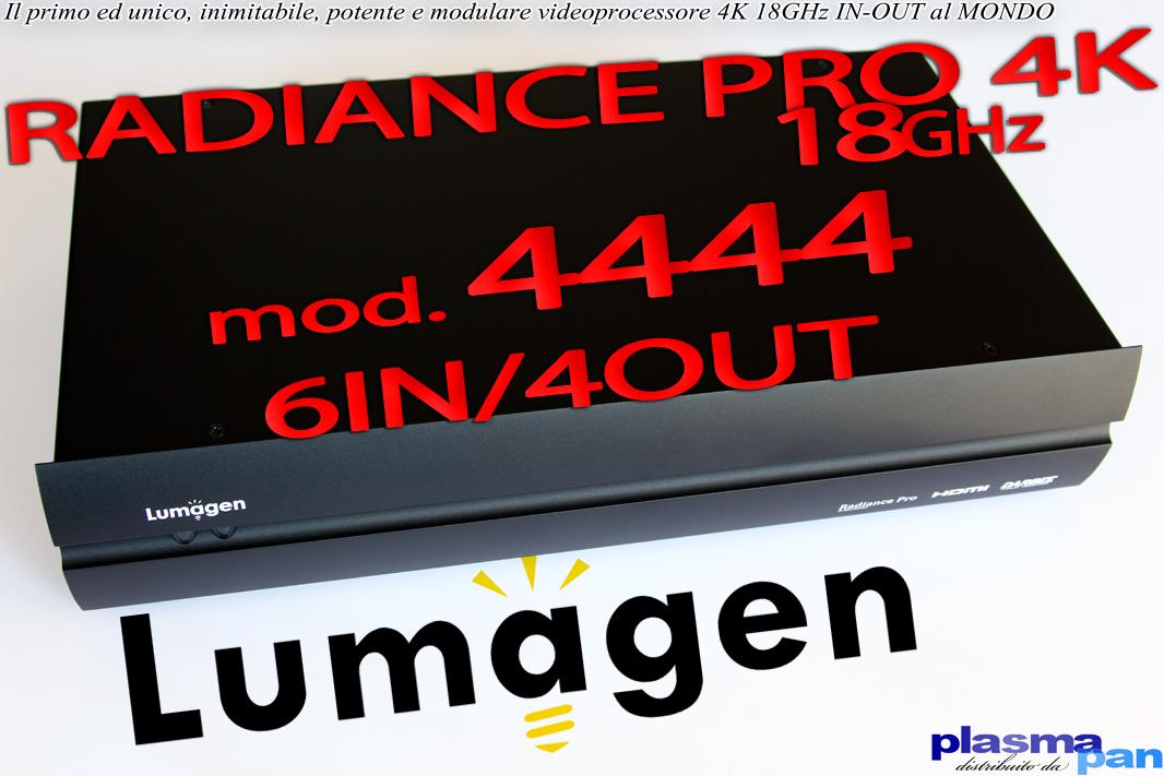 LUMAGEN RADIANCE PRO 4444 Processore Video 4K HiEnd