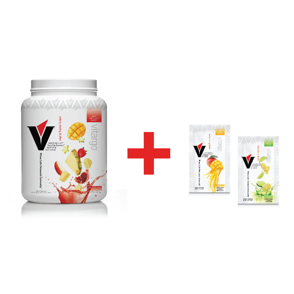 Vitargo Fruit Punch Plus 2 Single-Scoop Packets ($6.00 Value) 00017