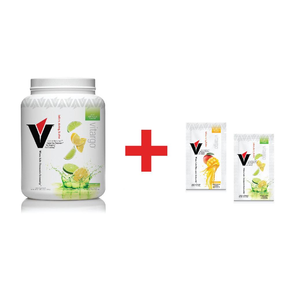 Vitargo Lemon Lime Plus 2 Single-Scoop Packets ($6.00 Value)