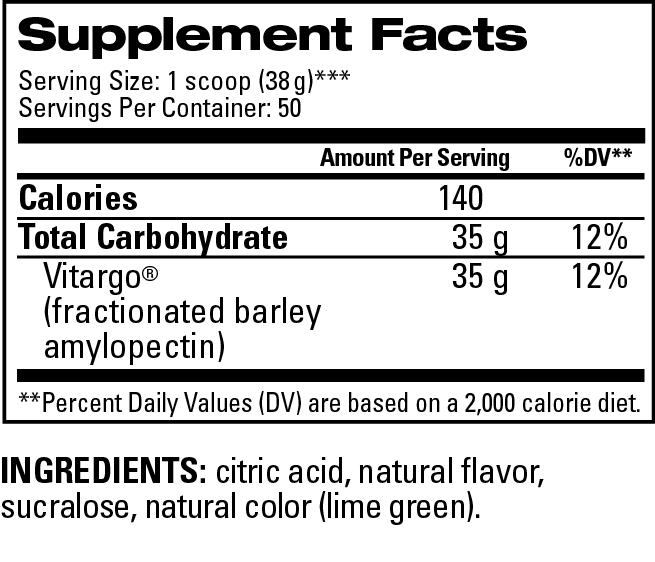 LemonLiime Supplement Facts