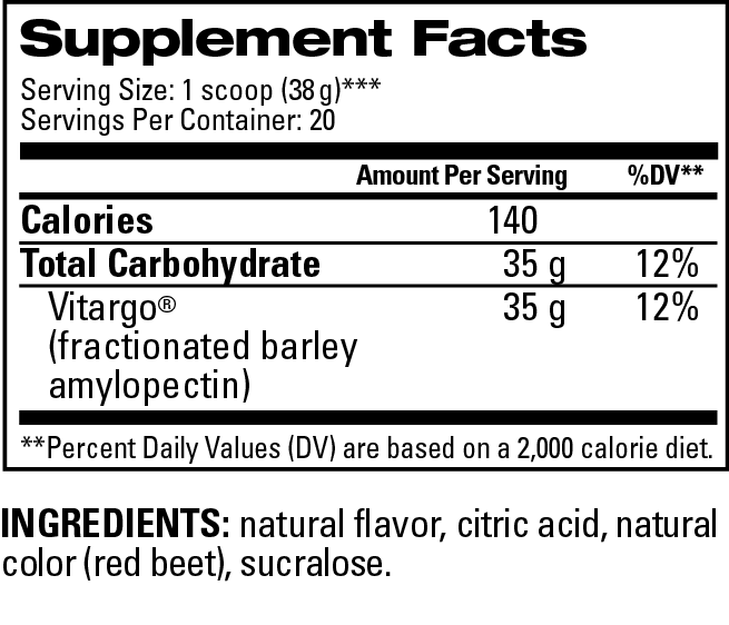 Watermelon 20 Scoop Supplemental Facts