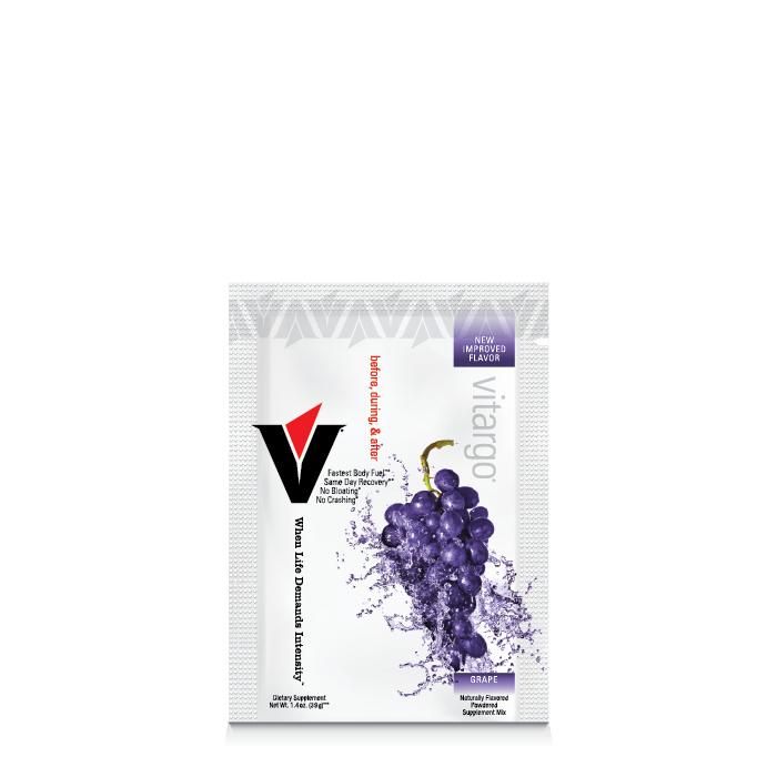 Vitargo Grape 1 Scoop Muscle Fuel (6 Packets) 1tgrpvit