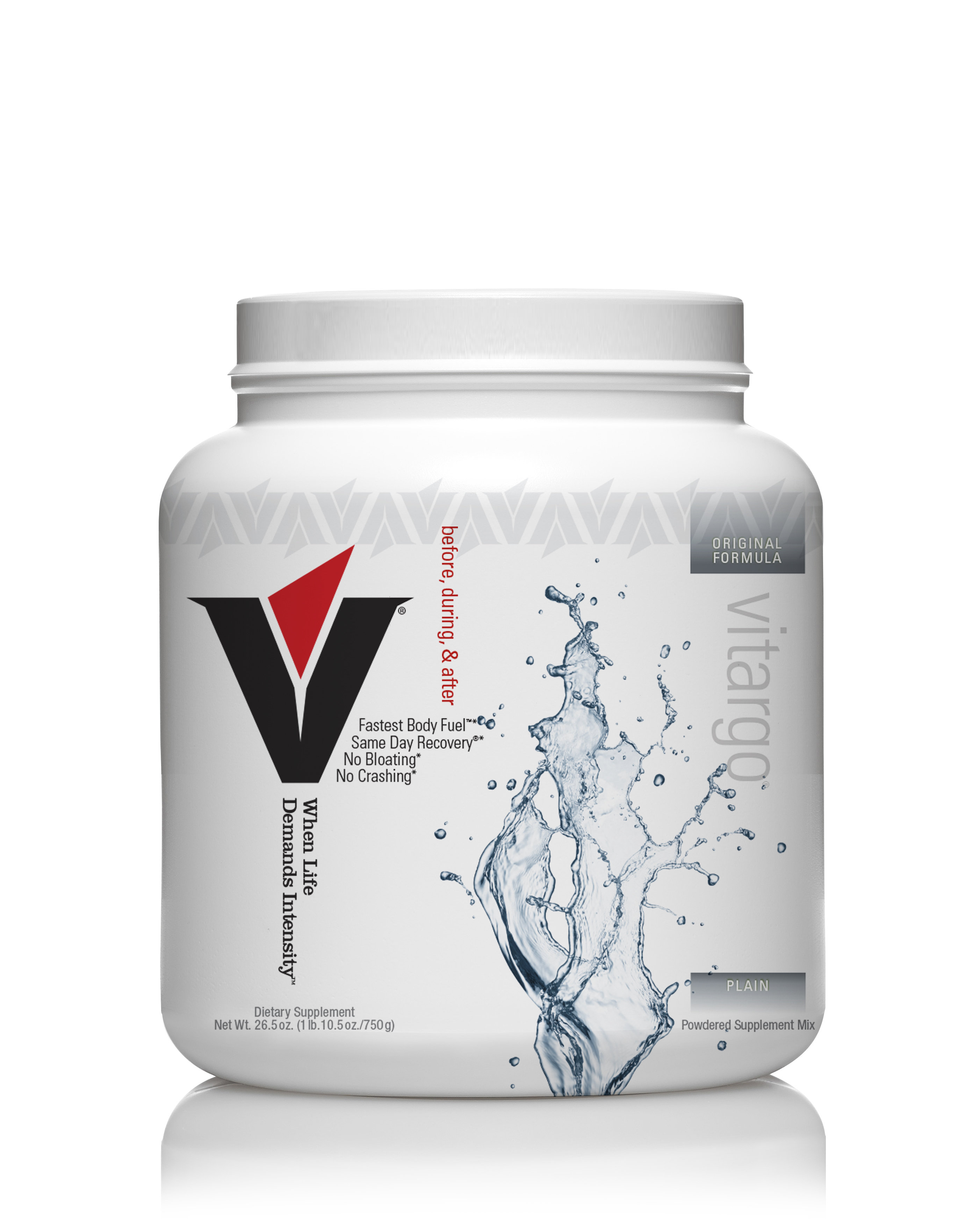 Vitargo Plain 20 Scoop 20tplnvit