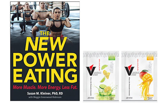 The New Power Eating PLUS 2 single scoop packets