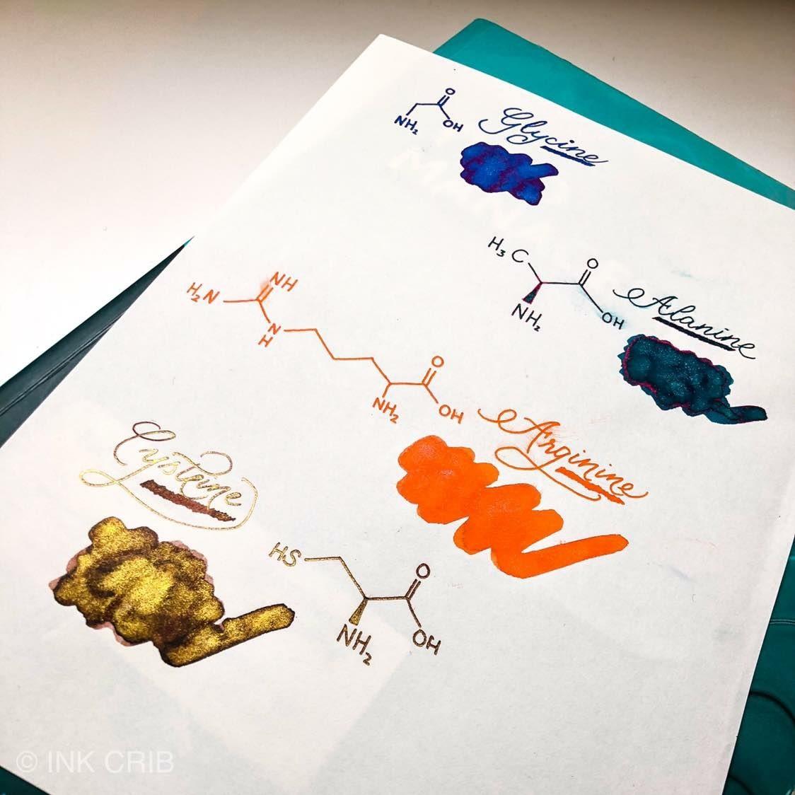 Organics Studio Sheen&Shimmer- Ink Sample Set (5ml)