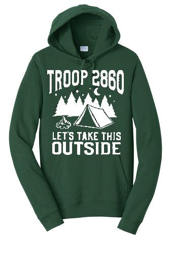 Only for pre-ordered 2019 Troop Fleece Pullover Hooded Sweatshirt