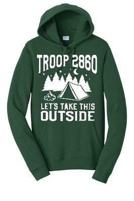 Only for pre-ordered 2019 Troop Fleece Pullover Hooded Sweatshirt