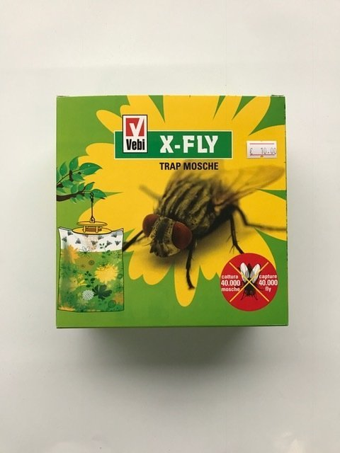 X FLY TRAPPOLA MOSCHE ECOLOGICA