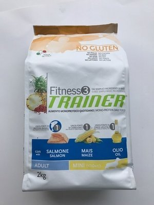 TRAINER FITNESS 3 ADULT MED MAXI SALMONE MAIS OLIO KG 3