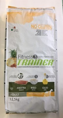TRAINER FITNESS 3 ADULT MED MAXI ANATRA RISO OLIO KG 12.5