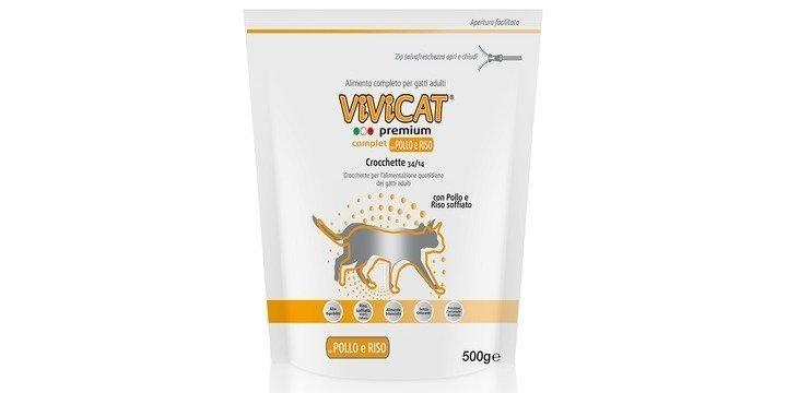 Vivicat Premium Complet Con Pollo E Riso Soffiato kg 1,5