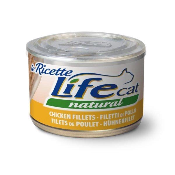 LIFE CAT NATURAL FILETTI DI POLLO GR 150