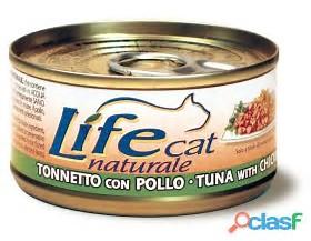 LIFE CAT NATURAL TONNO CON POLLO GR 150