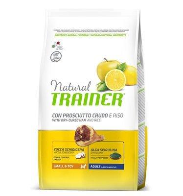 Trainer Natural Adult con prosciutto crudo e riso
