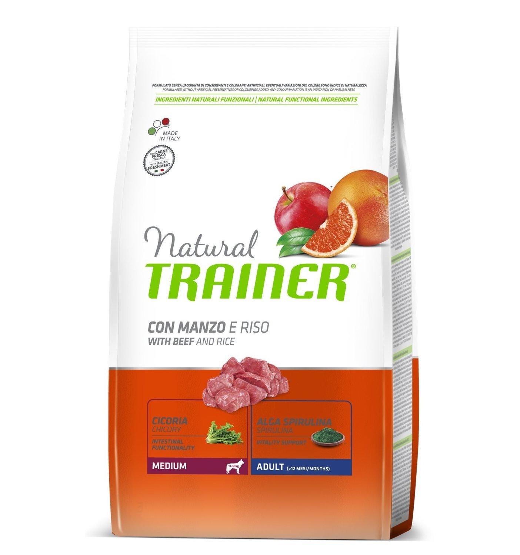 Trainer Natural Adult con manzo e riso