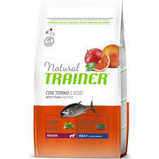 Trainer Natural Adult con tonno e riso