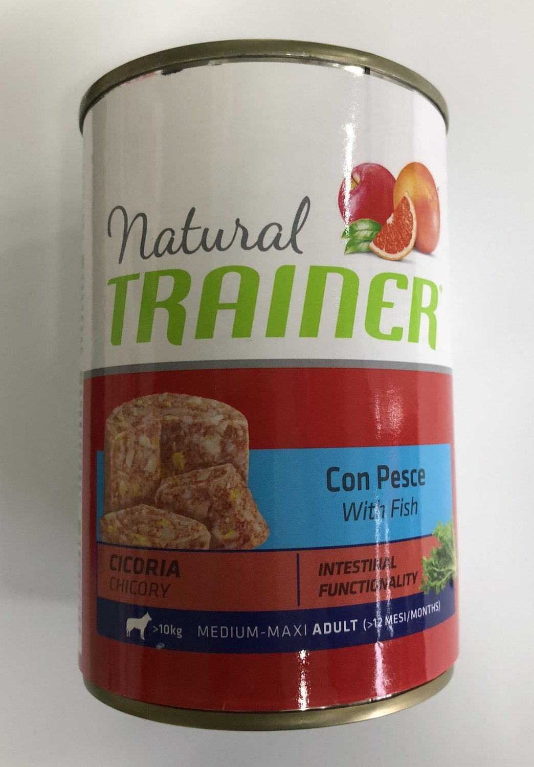 Trainer Natural Adult con pesce
