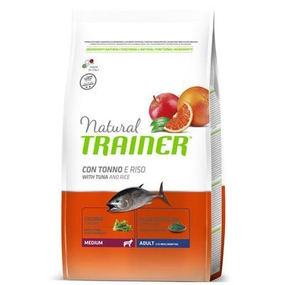 Trainer Natural Adult con tonno e riso