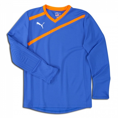 5790e0c94b4 PUMA Esito Long Sleeve Goalkeeper Jersey (includes logo and number on back)  - Blue