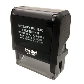 Texas Notary Self-Inking Stamp