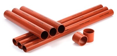 Red Silicone Turbo/Intercooler Hose 230 Deg C