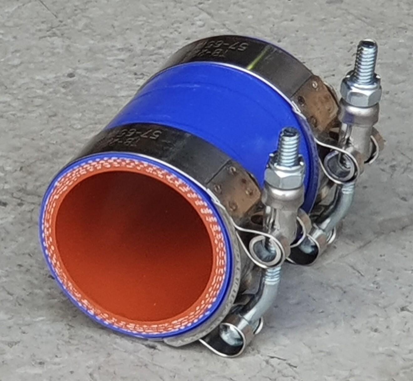Blue Silicone Radiator/Intercooler Hose & Clamp Kits