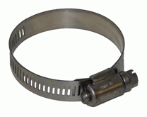 All S/S Hose Clamps Perforated Band TRIDON