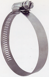 316 S/S Hose Clamps Perforated Band Box of 10