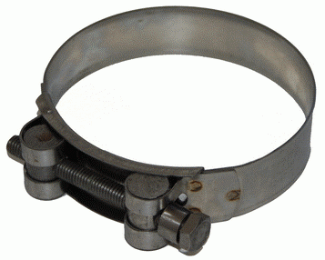 Super Clamp All Stainless Steel TRIDON