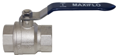 Nickel Plated Full Port Ball Valve F&F