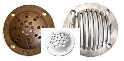 Brass/Stainless Steel & Nylon Scoop Strainers