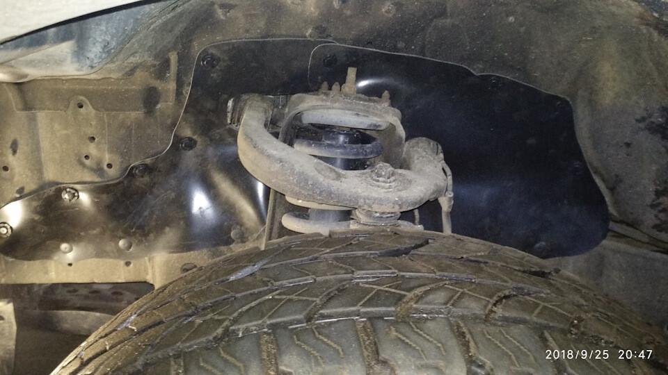 Боковые пыльники двигателя Toyota Land Cruiser Prado 90, 95, Hilux Surf, 4Runner в 185 кузове