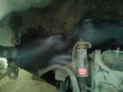 Боковые пыльники двигателя (брызговики двигателя) Great Wall Safe