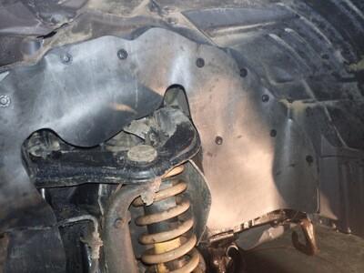 Боковые пыльники двигателя Nissan Pathfinder, Navara