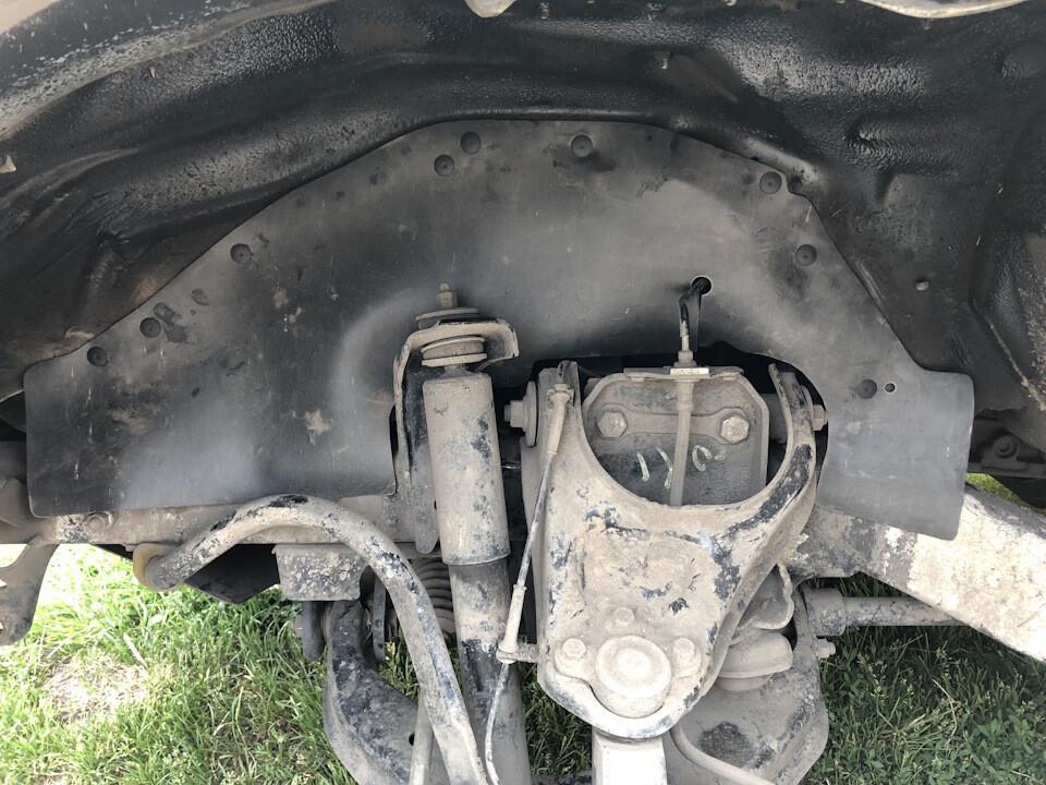 Боковые пыльники двигателя (брызговики двигателя) Great Wall Hover H1-H5