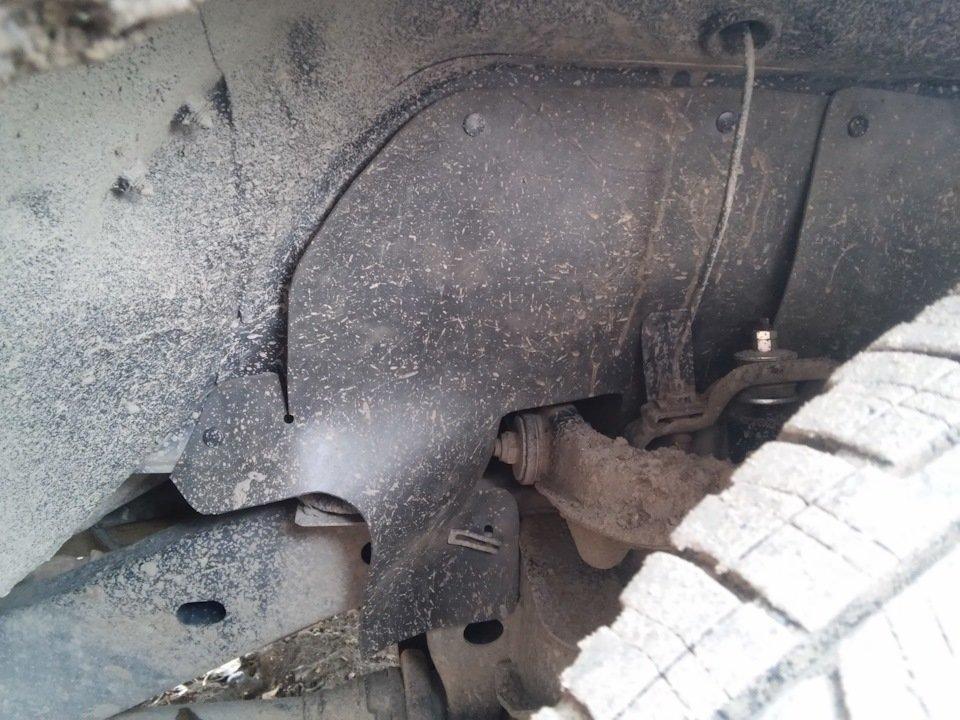 Боковые пыльники двигателя L200 3 поколения K60,70# (1996-2007)