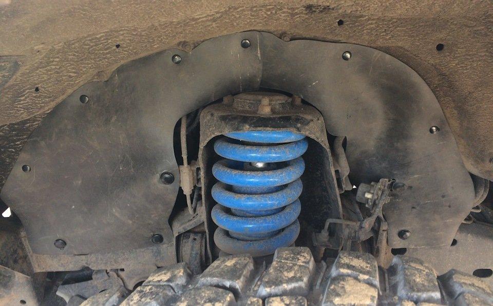 Боковые пыльники двигателя L200 4 поколения KA,KB#  (2005-2014)
