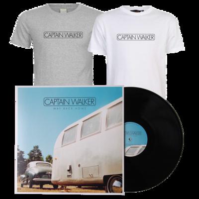 1x Vinyl + 1x T-Shirt combo