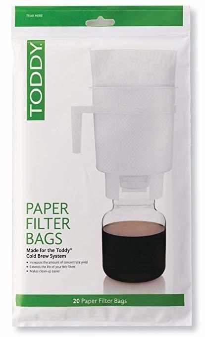 Бумажные фильтры Toddy 20 шт.