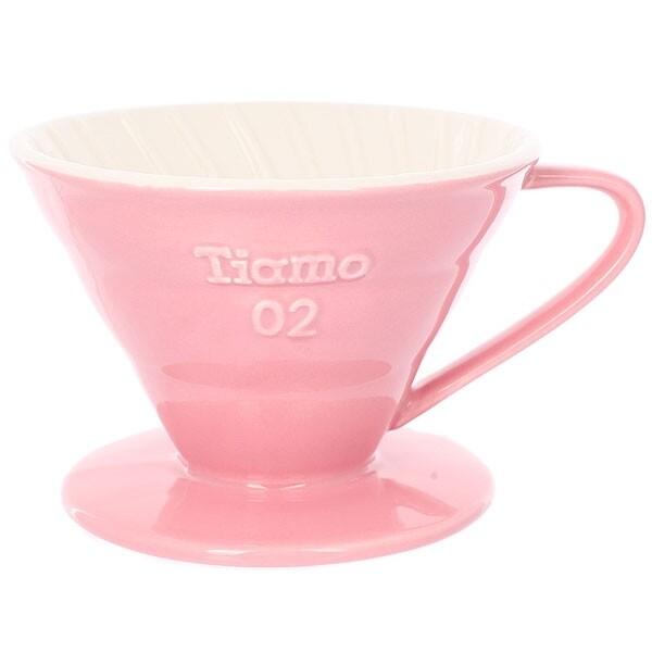 Tiamo Керамическая Воронка v02 розовая
