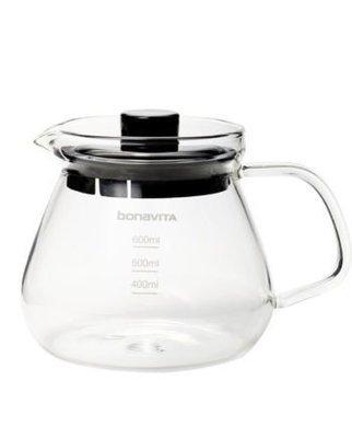 Bonavita Сервировочный чайник из закаленного стекла, 0.6 л