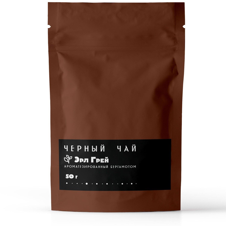 """Черный ароматизированный чай """"Эрл Грей"""", 50 г"""