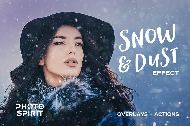 Snow & Dust Effect Photoshop