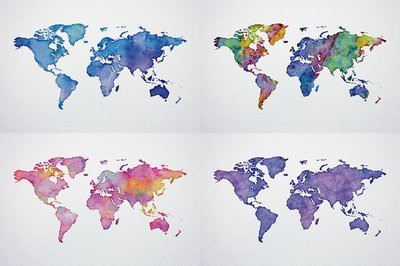 Watercolor world maps jpgepspng watercolor world maps jpgepspng authorgraphic spirit gumiabroncs Image collections