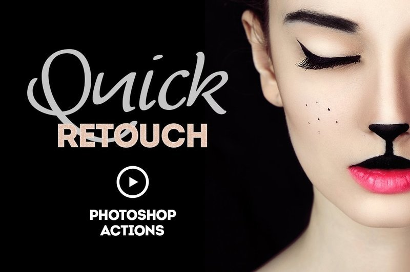 Retouch Actions Photoshop Free